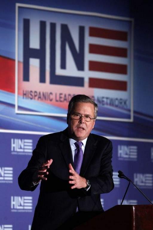 Jeb Bush alerta que tono antimigrante no tiene sentido