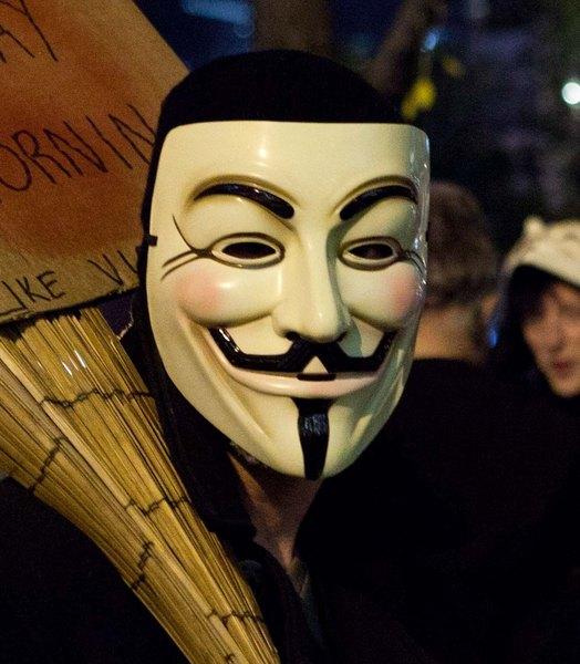 Anonymous ataca al gobierno de México.