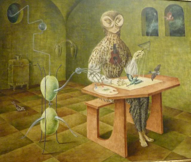 'Creación de las Aves' (1958), de la pintora Remedios Varo.