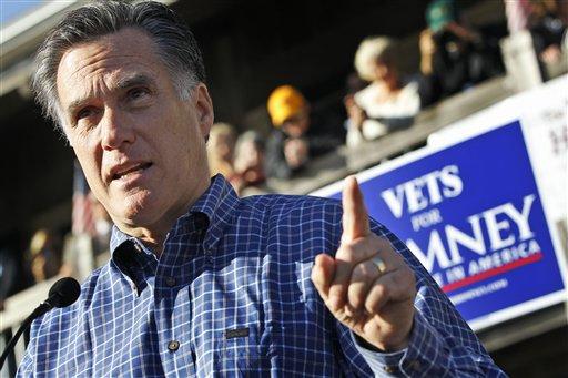Romney, que temprano hoy hizo campaña en Fish House de Pensacola, Florida, es 1,800 veces más rico que el resto de los ciudadanos.