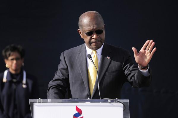 Herman Cain da su respaldo Gingrich