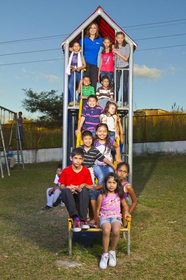 Neida Sandoval será investida hoy como Embajadora de las Aldeas Infantiles SOS.