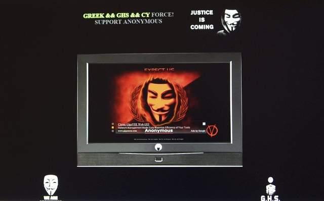 Confirman ataque de grupo Anonymous
