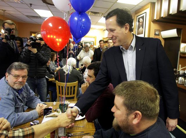 Santorum busca la impugnación