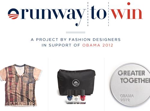 La moda se une por Obama