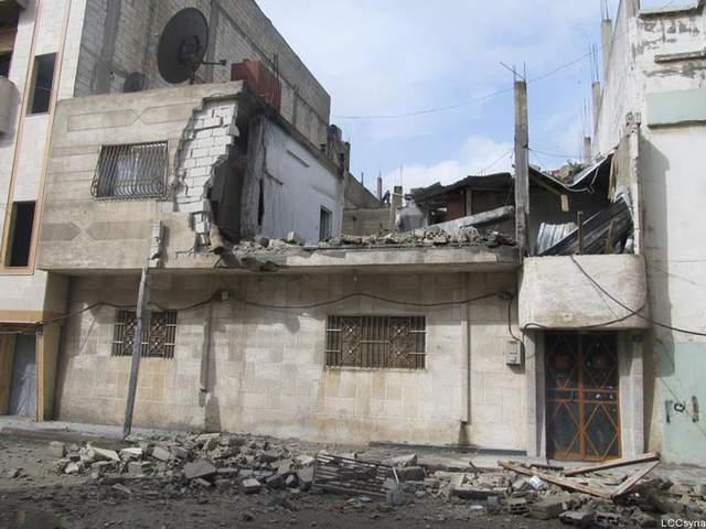 Homs víctima de bombardeos