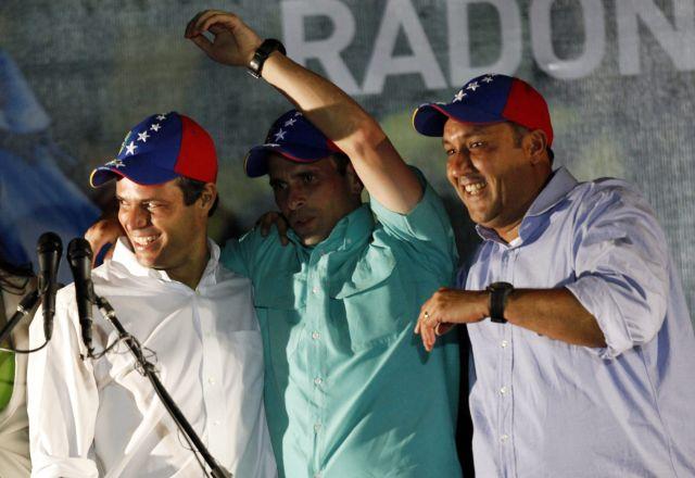 """Capriles: """"ganó el futuro de Venezuela"""""""