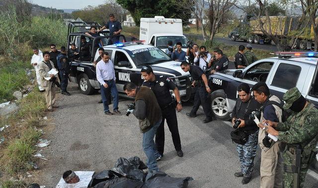 Descuartizan a seis en Morelos