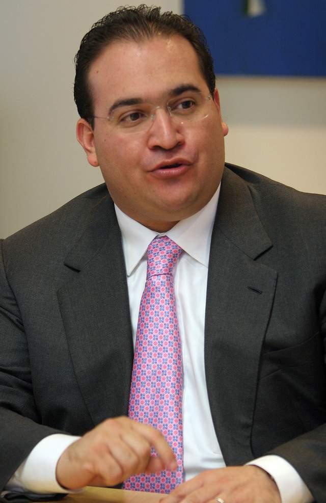 Javier Duarte fue denunciado por un Senador del PAN.