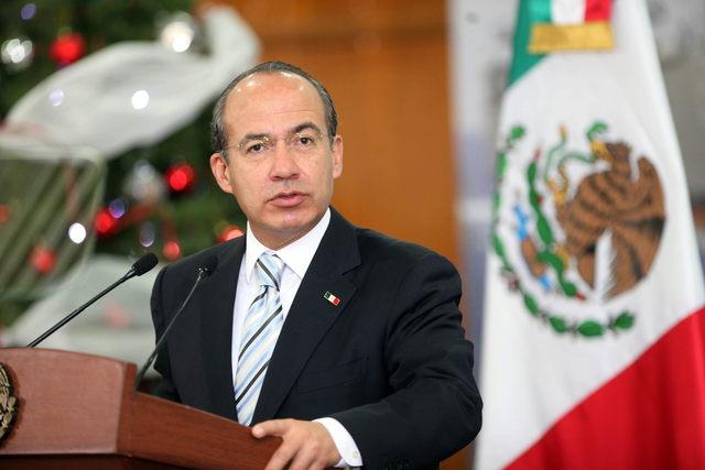 Calderón reclama descenso del crimen en Ciudad Juárez