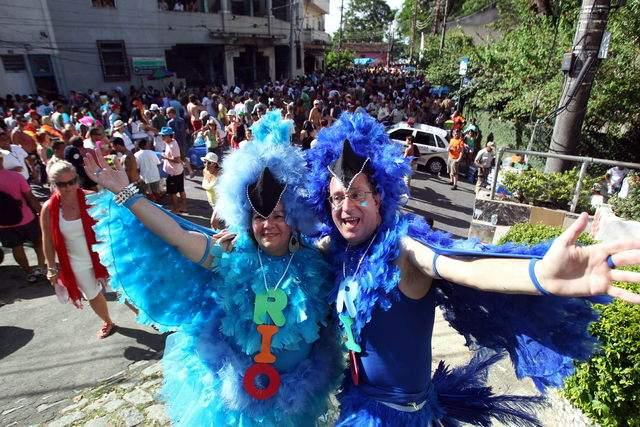 El carnaval es el dueño absoluto de Río de Janeiro
