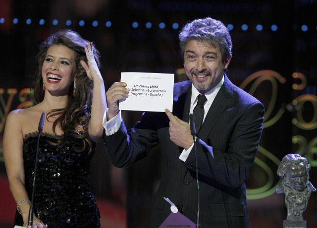 """""""Un cuento chino"""" triunfa en los Goya"""