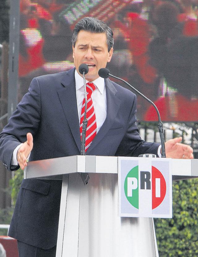 Peña Nieto lleva la delantera en México