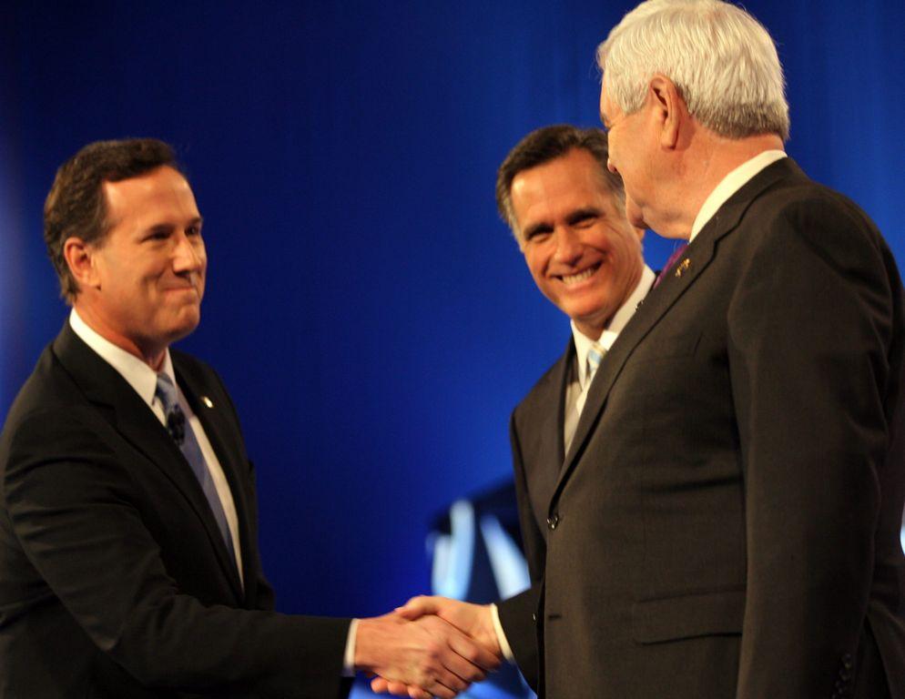 Santorum, Romney y las heridas del debate