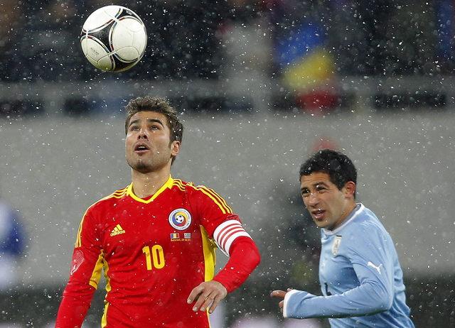 Rumania saca el empate a Uruguay