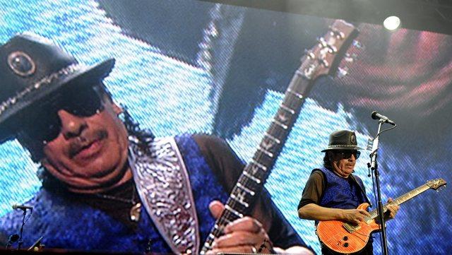 Carlos Santana regresa a Vegas