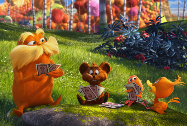"""Dr. Seuss' The Lorax"" y ""Project X"" este fin de semana"