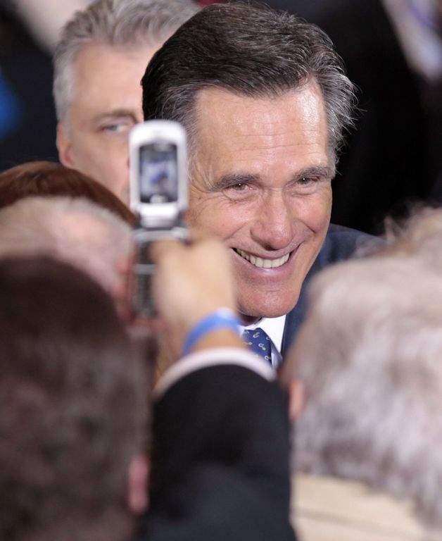 Mitt Romney en Michigan.