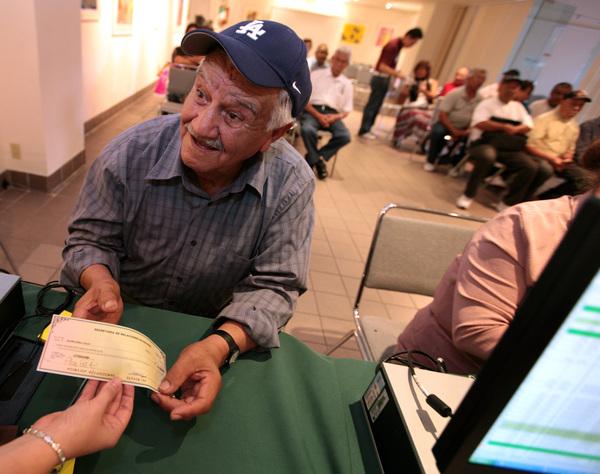 El exbracero Antonio Carrillo Salas de 77 años.