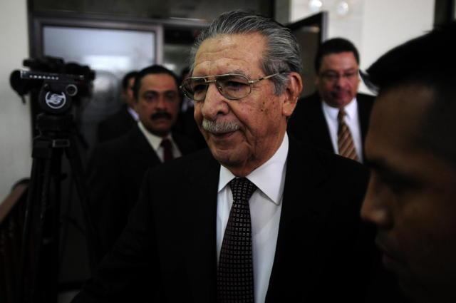 El abogado defensor de Efraín Rios Montt afirma, desde Guatemala,  que el lunes apelará la decisión judicial.