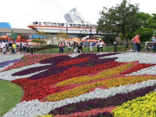 Epcot, uno de los parques temáticos de Disney, recibió  la primavera con un festival que reúne 30 millones de flores y 240 jardines.