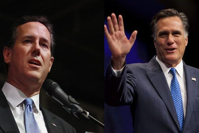 Santorum confía que contienda republicana sea entre dos