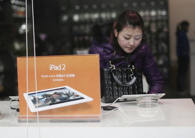 Piden no se venda   iPad en China