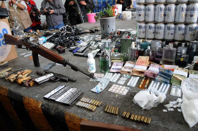 Enorme decomiso en penal de Michoacán