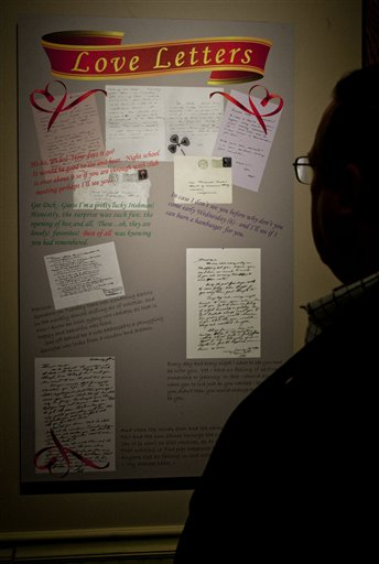 Cartas de amor revelan a un romántico Nixon