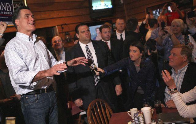 El aspirante presidencial republicano Mitt Romney cumple hoy 65 años.