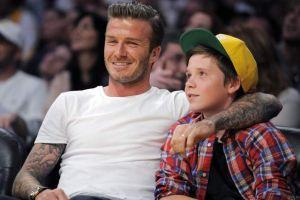 Brad Pitt, David Beckham y Tom Cruise son papás con estilo y glamour