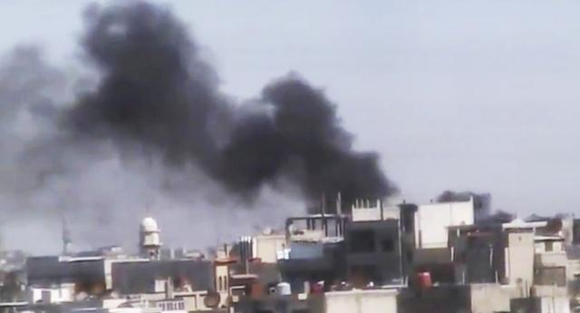 Bombardean Homs otra vez