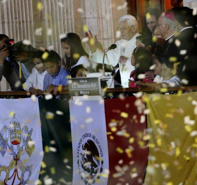 El Papa recibe las llaves de Guanajuato