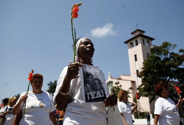 Arrestan  en Cuba a  opositores pacíficos