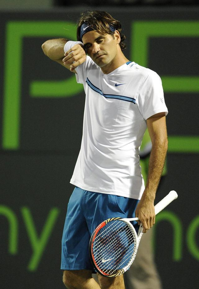 Federer es eliminado del torneo de Miami  Gran sorpresa en Miami