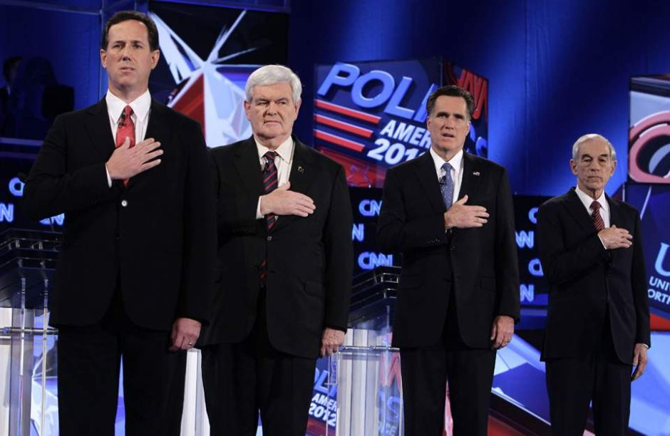 Republicanos quieren fuera a Gingrich y Paul