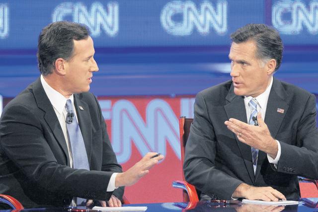 Santorum ya piensa en la vicepresidencia