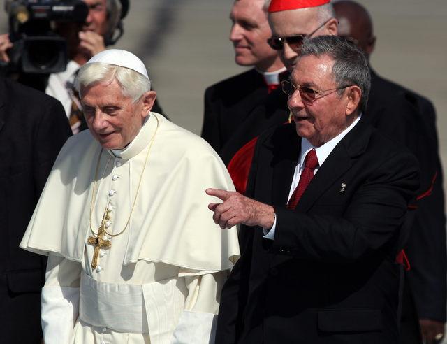 Benedicto parte hacia  La Habana