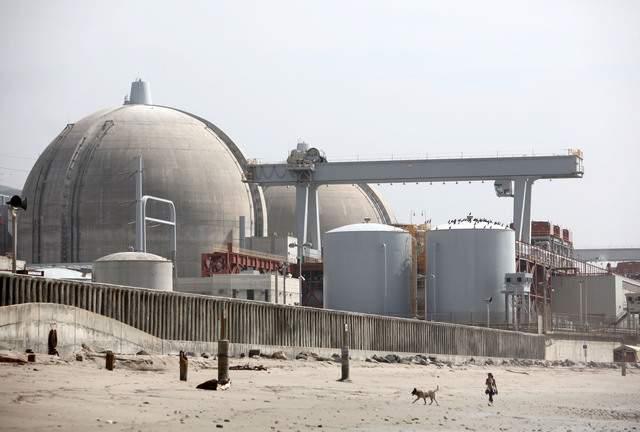 La planta nuclear San Onofre 45 millas al norte de San Diego es operada por Southern California Edison.