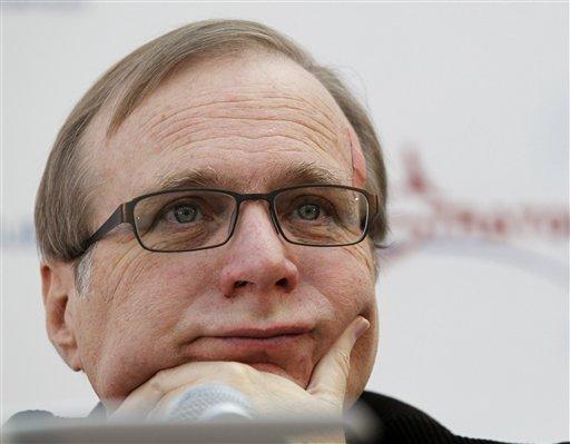 Paul Allen, confundador de Microsoft.