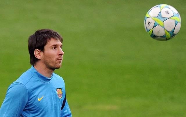 El mejor del mundo, Lionel Messi, es la referencia obligada del partido entre Barcelona y Milan en el marco de la 'Champions League'.