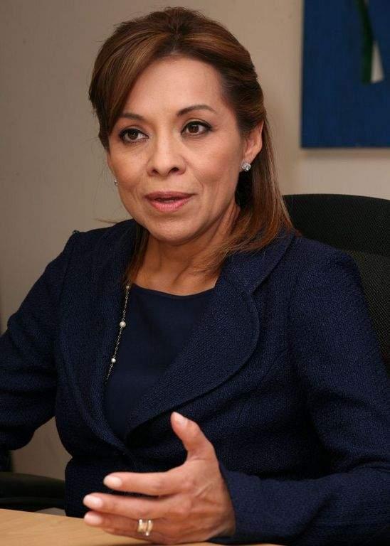 La candidata presidencial mexicana Josefina Vázquez Mota.