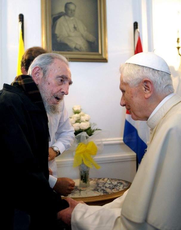Papa y Fidel: Amigos aunque no piensen igual