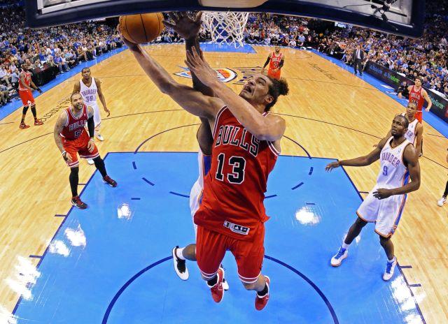 Los Thunder presionan a los Bulls