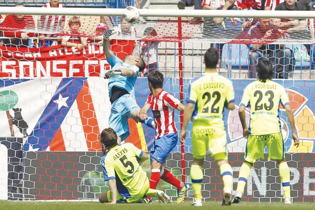 Atlético de Madrid golea a Getafe Los 'Colchoneros' sueñan