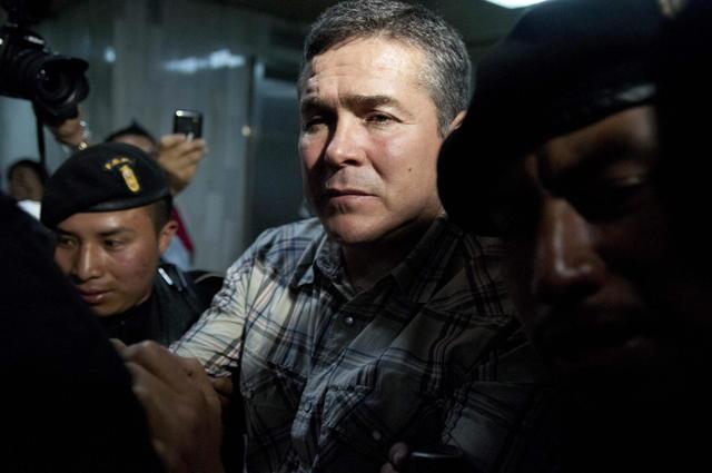 Capturan presunto narco guatemalteco