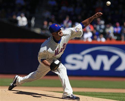 MLB: Santana cuelga cinco ceros y los Mets ganan