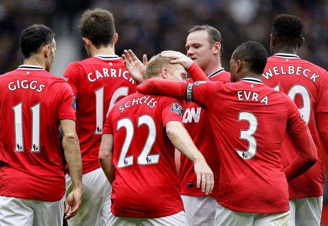 Manchester United se consolida  Man-U. luce inalcanzable
