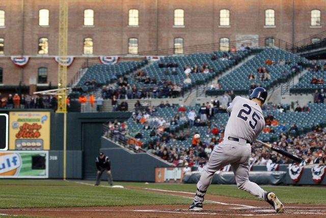 Los Yankees logran su primera victoria