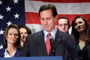 Santorum dice no más